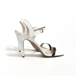 Charles by Charles David Leather Reverse Sandals